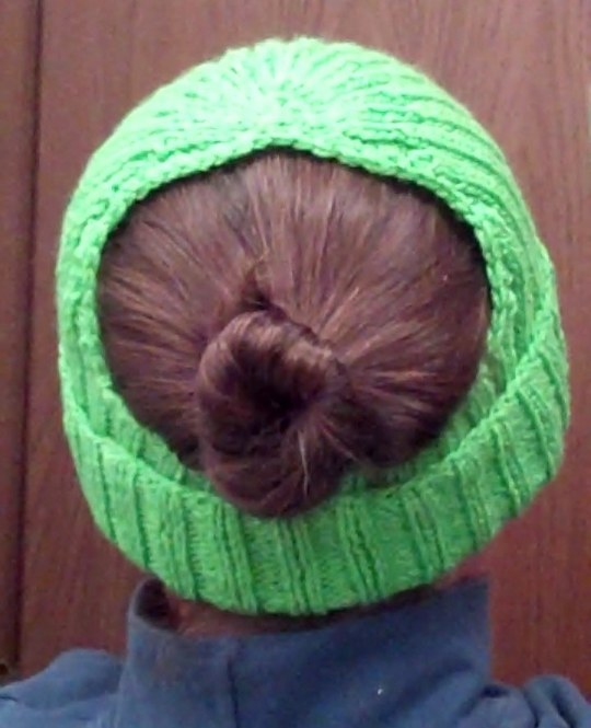 Bun and Pony Show Back View