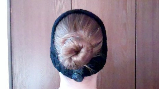 Cadet Bun Hat Back View