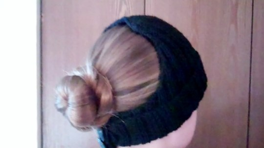 Cadet Bun Hat Side View
