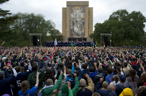ND Pep Rally